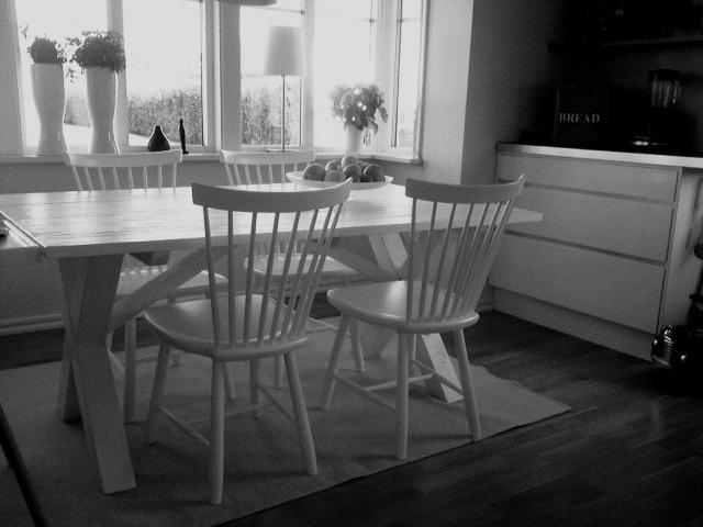 Lantliga Koksbord : lantligt koksbord  Det nya matbordet sagoborgen Toaletter lantligt